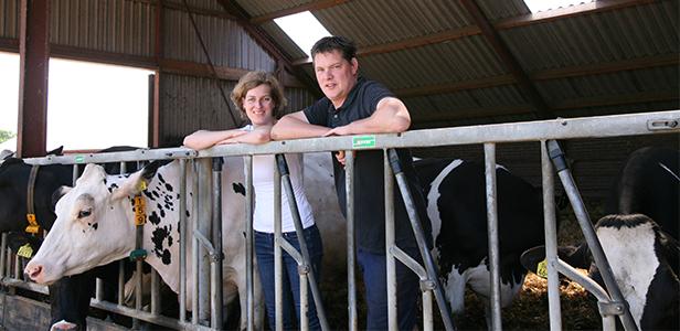 Jan Jaap en Stieneke van Nes - melkveehouders in Dwingeloo